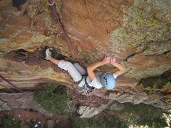 Rock Climbing Photo: In case you are not pumped... P1 finishes with som...