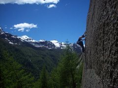 Rock Climbing Photo: valle dell'orco - italy