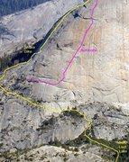 Rock Climbing Photo: Approach beta from Clint Cummins