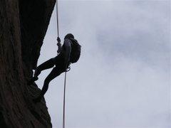 Rock Climbing Photo: Flat Irons Blue hole