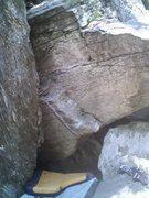 Rock Climbing Photo: Smuggs boulder