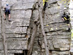 Rock Climbing Photo: Not sure the name of this climb...Fall 2011