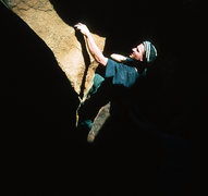Rock Climbing Photo: In the Dark Heart.  Hueco