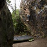 Rock Climbing Photo: Andy Patterson sticking Yeti Direct. (Photo courte...