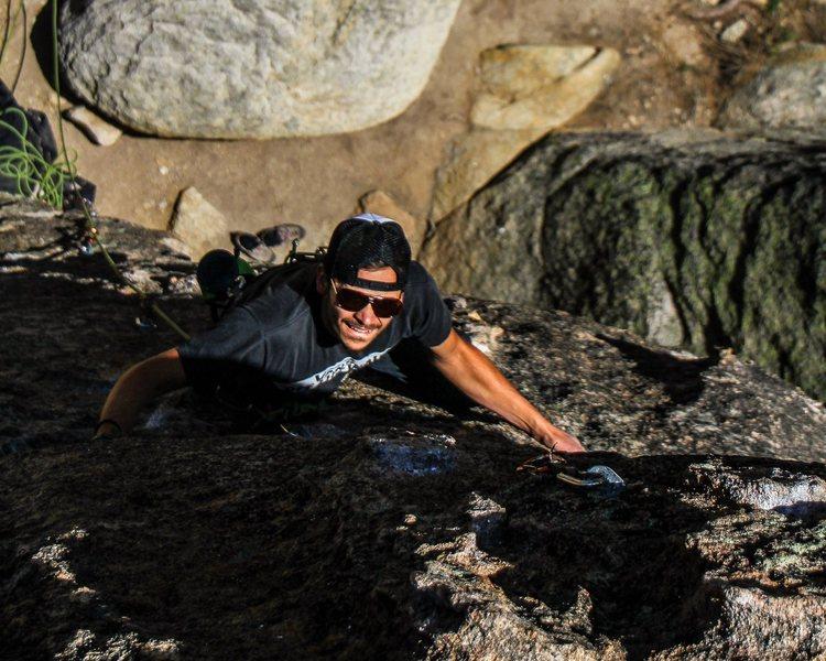 Rock Climbing Photo: Lost Orbit 10c. Holcomb Valley