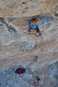 "Rock Climbing Photo: Meghan's ""life preserver rest"""