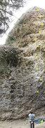 Rock Climbing Photo: top to bottom