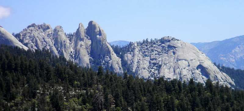 The Needles from Dome Rock