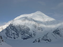 Rock Climbing Photo: Another view of Mt. Foraker from the east/south-ea...