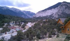 Rock Climbing Photo: View from our cabin at Mt. Princeton