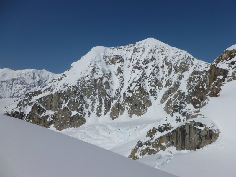 Rock Climbing Photo: View of the south side of Mt. Frances as seen from...