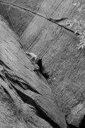 Rock Climbing Photo: jakob in the fun hands part...