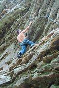 Rock Climbing Photo: jakob... doin it