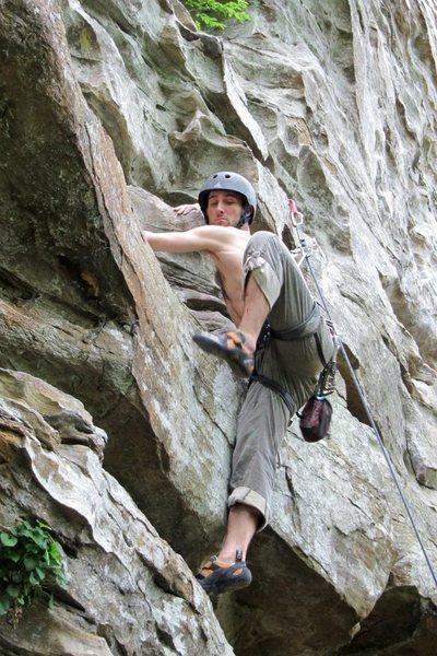 Rock Climbing Photo: i think this was on Little T-bone but not sure...