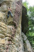 Rock Climbing Photo: this was a very fun route... recomended!