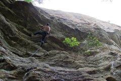Rock Climbing Photo: jakob in the steep