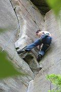 Rock Climbing Photo: no one puts jakob in the corner...