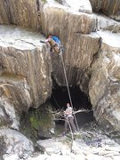 Rock Climbing Photo: Nathan Brown on Crack of Tiers