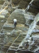 Rock Climbing Photo: Joe Bryson on Junk Show