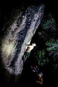 Rock Climbing Photo: Night bouldering.