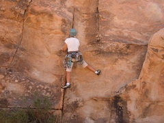 Rock Climbing Photo: Start of Junior Well's