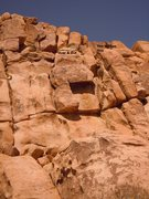 Rock Climbing Photo: Over & Out & The Golden One