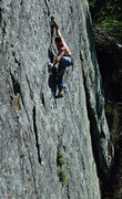 Rock Climbing Photo: Neal Archambault on 'Beer Can Direct', 5.11a, Lowe...