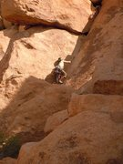 Rock Climbing Photo: Mary Moser on unknown climb/Corner left of Wika
