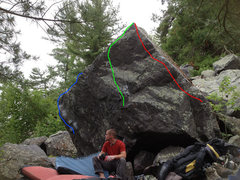 Rock Climbing Photo: The Glory or Die Boulder, Glory or Death is the Gr...