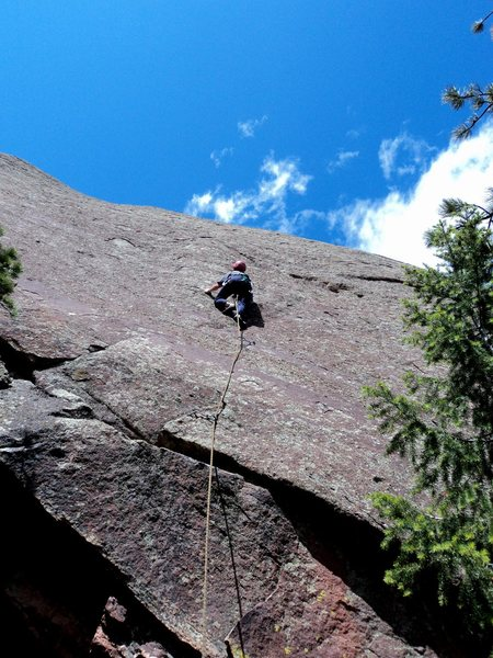 Rock Climbing Photo: There are better edges, pebbles, and scoops than y...