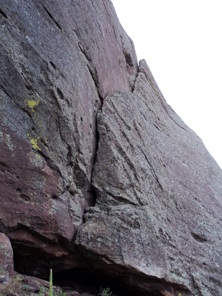 Rock Climbing Photo: South of the Mouth.
