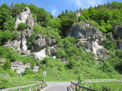 Rock Climbing Photo: NOT BLEISTEINE!!! This is the rock directly across...