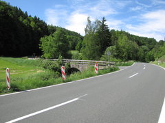 Rock Climbing Photo: Here is your left turn over the bridge and then pa...