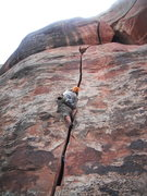 Rock Climbing Photo: Unknown fist crack at the Creek