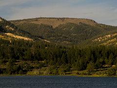 Rock Climbing Photo: Upper Jungle from Pine Lake