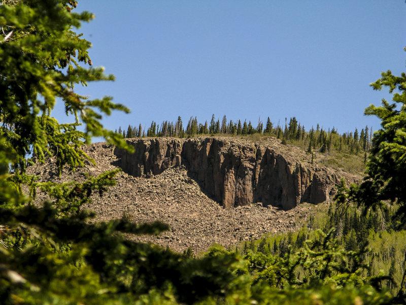 Rock Climbing Photo: Upper Jungle