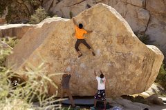 Rock Climbing Photo: Topping JBMFP
