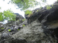 Rock Climbing Photo: Pitch 1