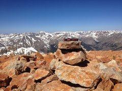 Rock Climbing Photo: Redcloud.