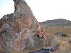 Rock Climbing Photo: Jay Ray on the Ramp