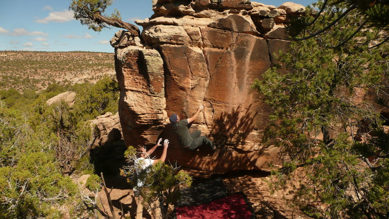 Rock Climbing Photo: Aaron White on Y Not
