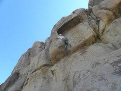Rock Climbing Photo: It's slow going...