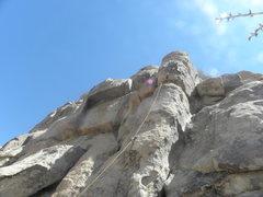 Rock Climbing Photo: A very nice line....