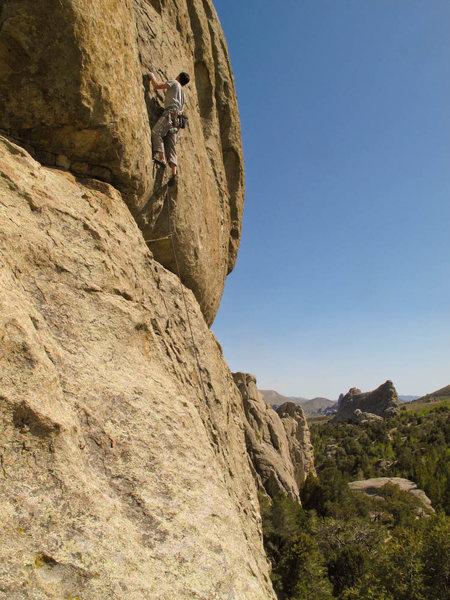 Rock Climbing Photo: mas la ciudad