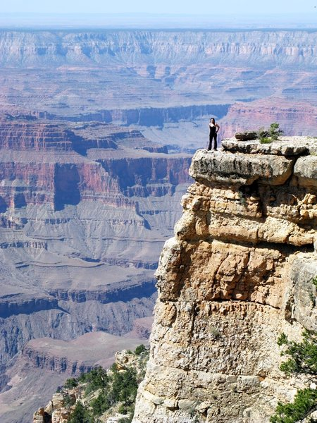 At an undisclosed location on the North Rim of the Grand Canyon. An awesome backpacking trip to an island in the sky. May 21st, 2012