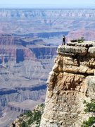 Rock Climbing Photo: At an undisclosed location on the North Rim of the...
