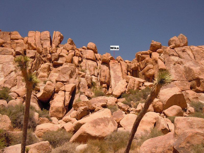 Rock Climbing Photo: Wika location