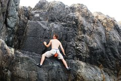 Rock Climbing Photo: Castle Rock