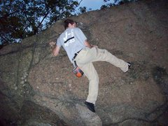 Rock Climbing Photo: Bouldering in Lynn woods