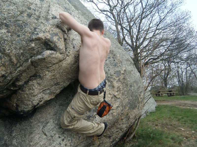 Rock Climbing Photo: Stage Fort park